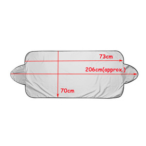Image 5 - NoEnName_Null Prevent Snow Ice Sun Shade Dust Frost Freezing Car Windshield Cover Protector
