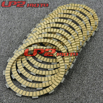 For kawasaki ZZR1400 ABS (ZX 1400 B6F/B7F) 2006-2007 Paper Based Clutch Friction Kit Disc Plates Set Motorbike Parts Accessories