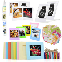 Camera Accessories Bundle for Fujifilm Instax Square SQ20/SQ10/SQ6/SP-3 Pack of Stickers, Wall Hang Frame, Desk Frame