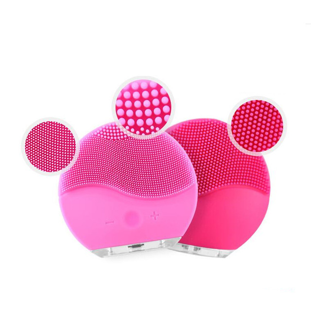 Electric Silicone Cleansing Brush