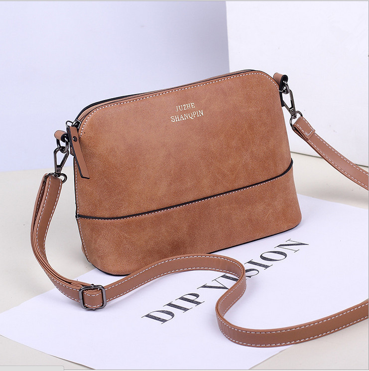 798aef6aca55 Hot 2017 Brand Fashion Preppy Style Stamp Shoulder Bags Women Leather  Handbags Messenger Bags Crossbody Bag Tote