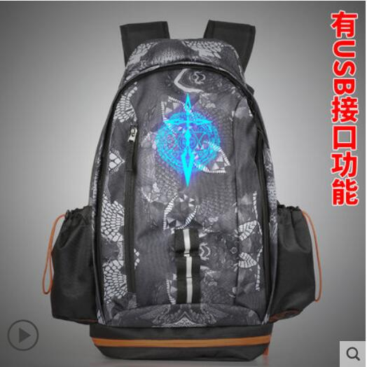 Anime Fate zero/Fate stay night COSPLAY Casual fashion men and women large-capacity travel backpack rolecos japanese anime fate stay night altria pendragon cosplay costume fate zero saber arturia pendragon cosplay costume