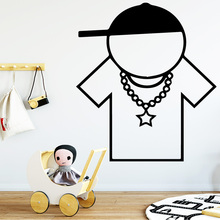 New Design Man Wall Stickers Animal Lover Home Decoration Accessories For Home Decor Living Room Bedroom Wall Art MURAL Drop creating home design for living