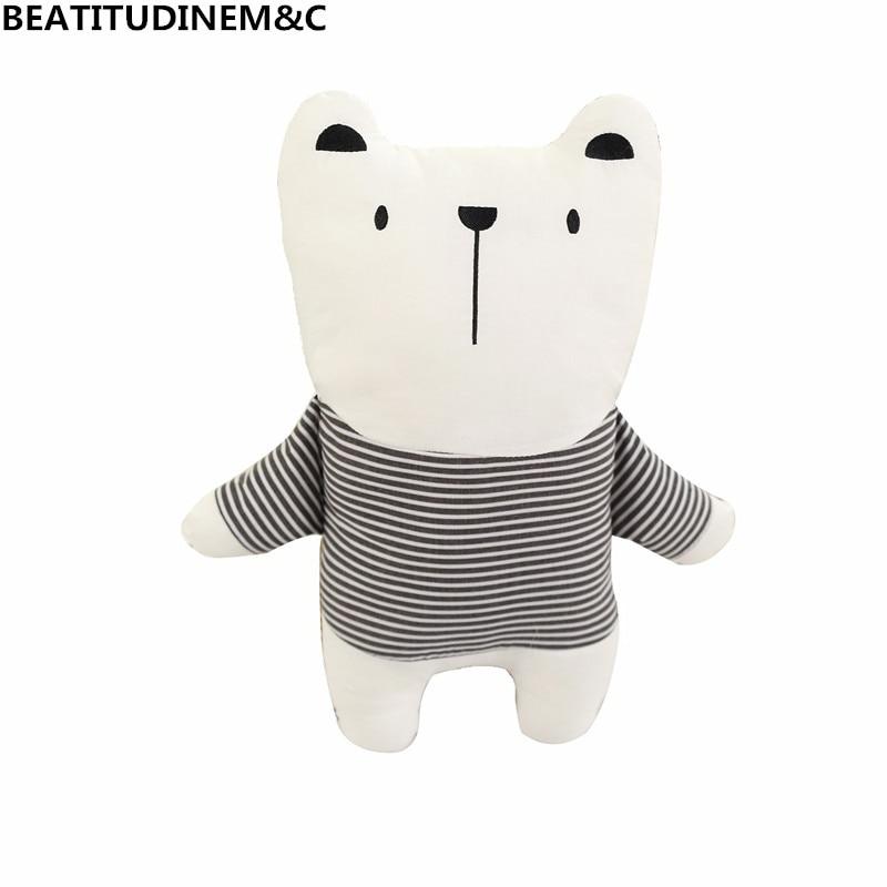 Nordic Style Rabbit Unicorn Bear Pillow Cushion Toys 2