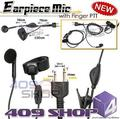4-009S Earpiece Mic With Finger PTT (S Plug)