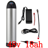 US EU Free Tax Electric Bicycle 48v 18Ah 750W Kettle Lithium Ion Battery Water Bottle EBike