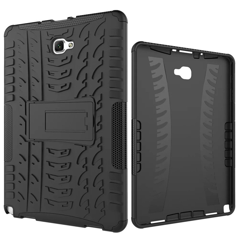for samsung galaxy tab a 6 a6 10 1 p580 p585 with s pen tablet case heavy duty defender rugged. Black Bedroom Furniture Sets. Home Design Ideas