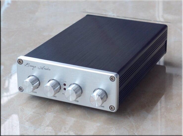 F1-MK2 version améliorée NE5532 * 2/OPA2604 LME49720/TDA8920 * 2 Tone préamplificateur Avec treble alto réglage des basses