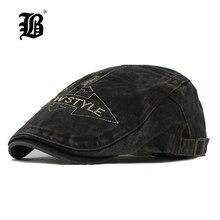 FLB  casquillo de casquette del sombrero de la boina lavado algodón  sombreros para hombres y mujeres de los niños viseras sombr. 2a740a3f2b7