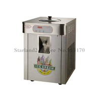 Commercial Gelato Machine Stainless Steel Desktop Hard Ice Cream Maker 220V Yield 18L/H for Dessert Shops Dinning Rooms