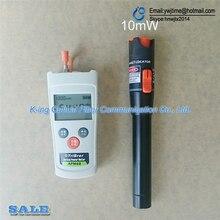 Mini 2 In1 FTTH Fiber Optic Tool Kit Fiber Optical Power Meter  70+10dBm and 10km 10MW Visual Fault Locator Fiber optic test pen