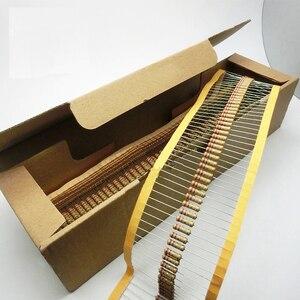 Image 2 - Kit surtido de resistores de película de carbono, 2440 Uds., 122 valores, 0,33 4,7 M ohm 1/2W 5%, componentes electrónicos