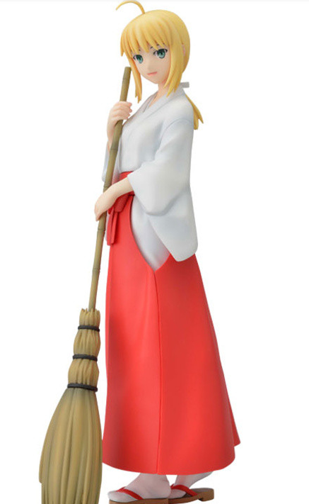 new 21cm Fate/stay night Kimono Saber Sweeping cartoon doll PVC Anime Action Figure for Collection Birthday new hot 25cm fate zero fate stay night kimono saber action figure toys collection christmas gift with box