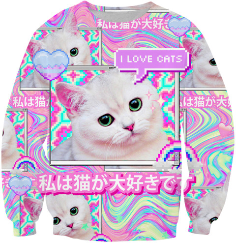 PLstar Cosmos Cute Cat New Style Harajuku Hot Style Hoodies 3D Print Funny Sweatshirt Drop Shipping