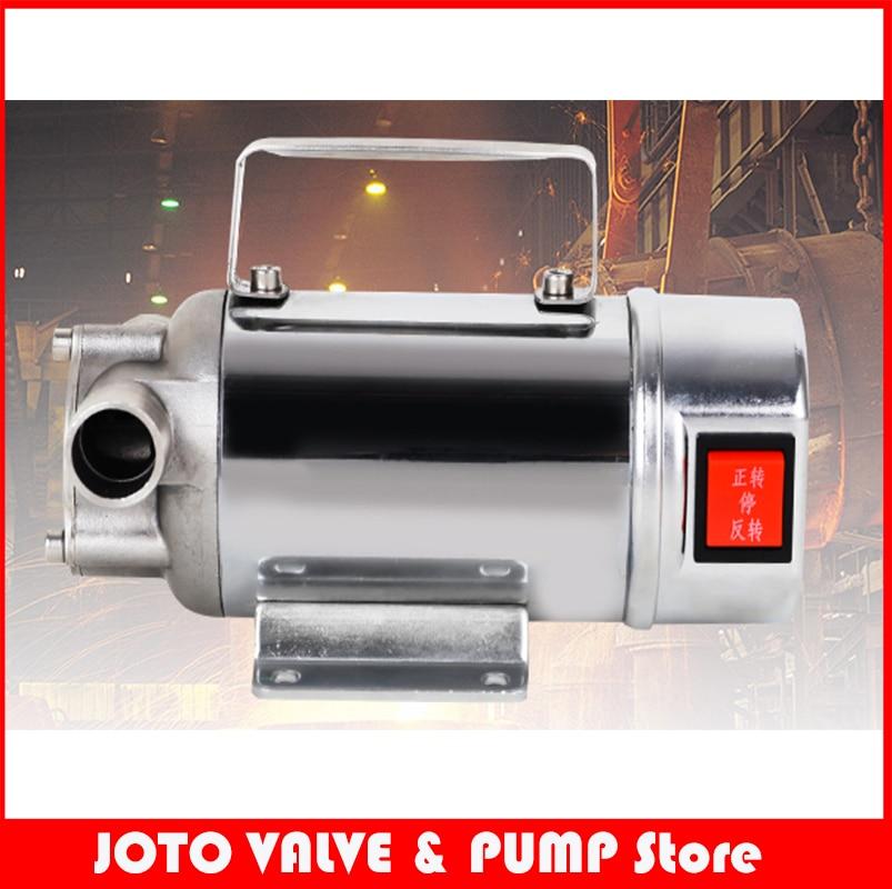 все цены на 70L/min Stainless Steel Oil Pump 24V/12V/220V Diesel kerosene Oil Pump онлайн