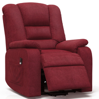 Safety Power Lift Recliner Sofa Chair Modern Lounge Upholstered Chaise Indoor Living Room Reclining Chair Adjustable Lounger