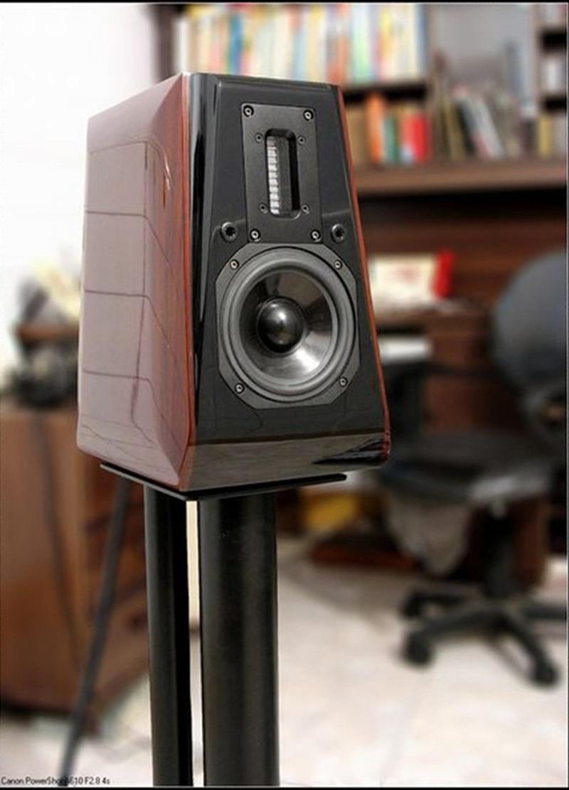 N-008 Aurum Cantus Leisure 2 5 3/4 -inch 2-Way 2 Driver bookshelf speaker (G2 Aluminum Ribbon Tweeter) (pair) aurum cantus leisure 2 5 3 4 inch 2 way 2 driver bookshelf speaker g2 aluminum ribbon tweeter pair