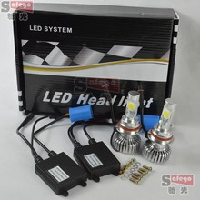 5sets 9004 9007 cree DC 12V 24V 9004 led headlight 9007 led headlight bulb led headlights 9007