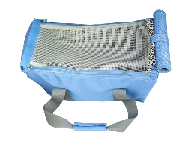 Free Shiping Blue 1680D  polyester Pet Dogs Carrier Bag Dogs Fashion Bag small puppy hand carrier bag