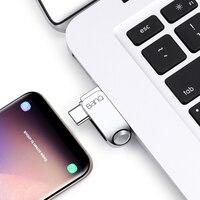 Pendrive USB 3.0 y USB-C 3
