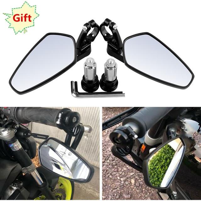 Motorcycle mirror 7/8