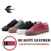 Quality JEANKC Spring/Winter Canvas Sneakers Men Women Professional Skateboarding shoes with Anti Fur Board Shoes for Road skate
