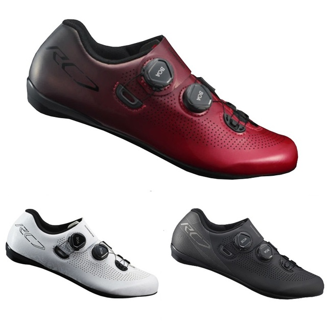 24a1238b3 2019 Shimano SH RC7 zapatos de carretera de ventilación de carbono zapatos  de carretera SH-