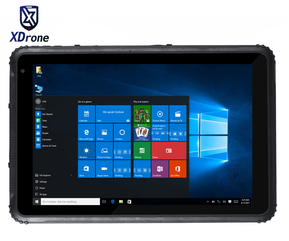 Best Brand Kcosit K18h Rugged Windows Tablet 10 Pro Touch