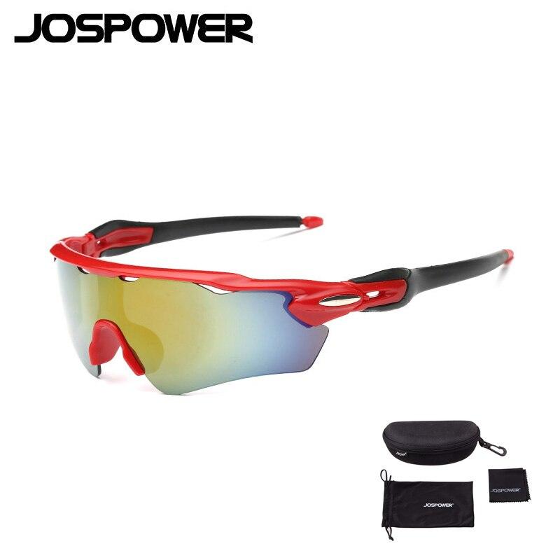 JOSPOWER Cycling Glasses Outdoor Sports MTB Bicycle Glasses Motorcycle Anti UV400 Sunglasses Bike Eyewear Oculos Ciclismo