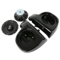 6 1 2 Audio Speakers W Glove Box For Harley Touring Lower Fairing FLHT FLHX 2014