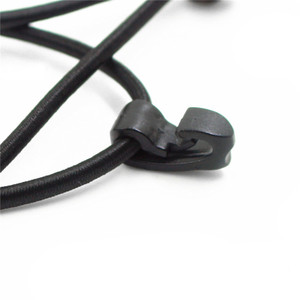 Image 5 - 2/3/5 pièces extérieur cerclage plastique crochet corde boucle élastique corde élastique cordon élastique cravates avec crochet Portable Camping sac à dos sac boucle