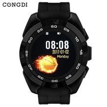 купить X4 Smart phone watch Heart Rate Passometer Stopwatch Bluetooth Smartwatch Sport For IOS Android Blood pressure monitor BT Camera дешево