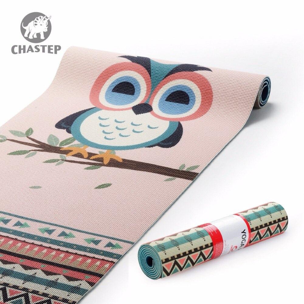 Chastep Folding Natural PVC Yoga Mat Eco friendly Slip ...