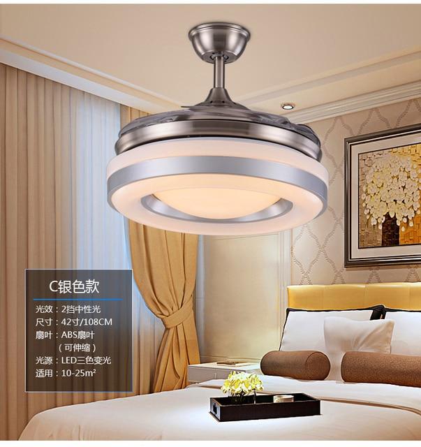 wonderful schlafzimmer deckenventilator #1: 110 ~ 240 V fan lampe deckenventilator esszimmer wohnzimmer-schlafzimmer  vintage deckenventilator licht mit fernbedienung