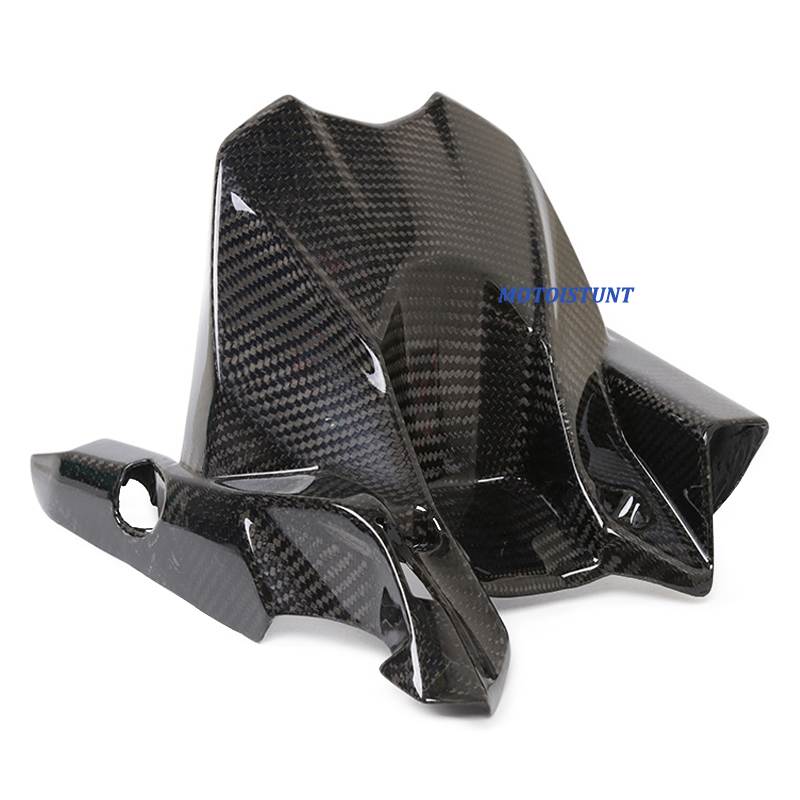 Image 4 - Motorcycle Accessories Carbon Fiber Rear Fender Mudguard Fender Hugger For Kawasaki Z800 ZR 800 Z ZR800 2013 2016 2014 2015