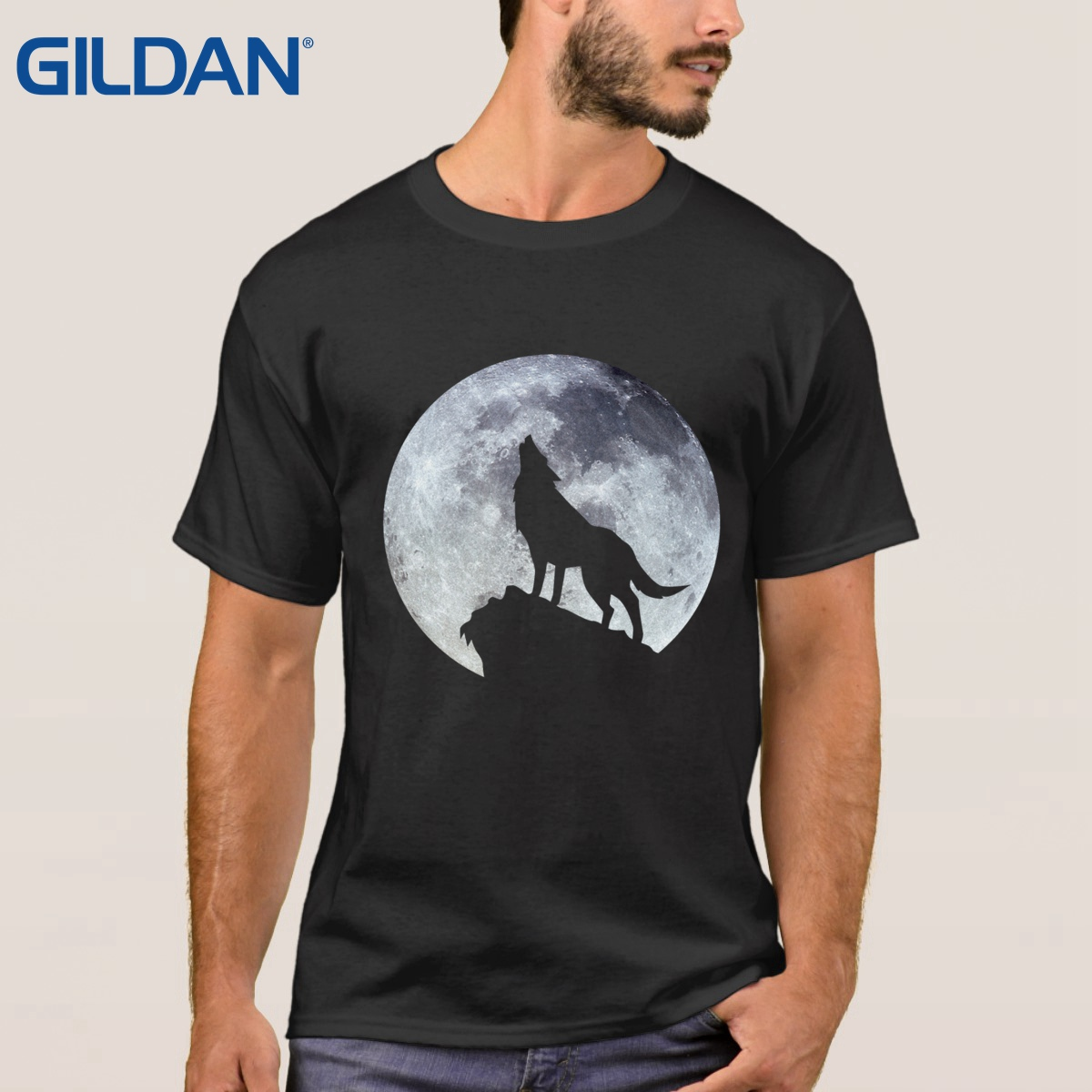 Design your own t shirt mens - Black Friday Tee Shirt 100 Cotton Wolf Sif Dark Souls Grey T Shirt Mens Homme Size S To 4xl Printing Cloth Design Your Own Tee Shirt