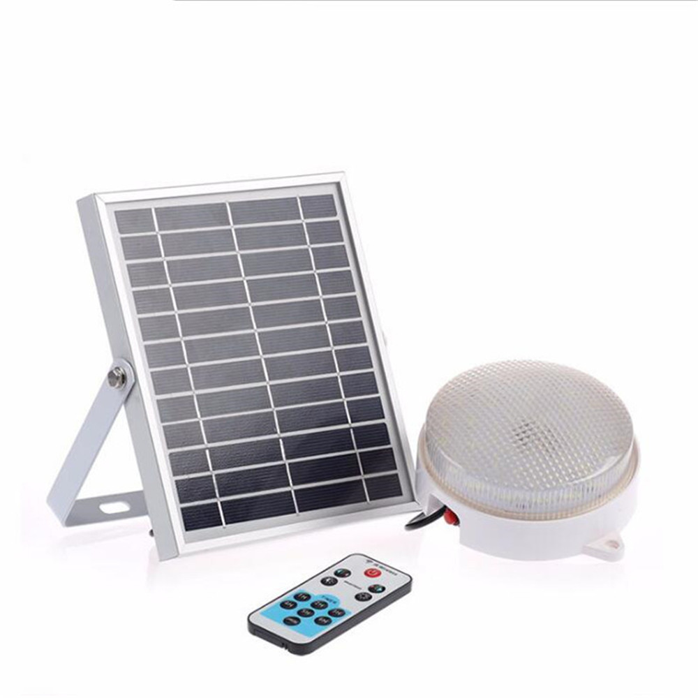 New 60 LED Solar Lamp For Outdoor Garden Wall Yard Fence With Line Separable Solar Power Light Remote Control Dimming FunctionalNew 60 LED Solar Lamp For Outdoor Garden Wall Yard Fence With Line Separable Solar Power Light Remote Control Dimming Functional