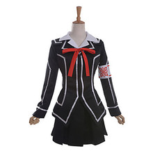 Vampire Knight Cross Academy Day Class Girls School Uniform VER. Cosplay Costume Inspired by