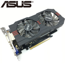 ASUS – carte graphique nVIDIA Geforce GTX 750 Ti, 2 go GDDR5, 1050 bits, originale, d'occasion
