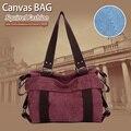 Squirrel fashion canvas women's shoulder bags pattern brand vogue belt casual vintage versatile patchwork girls handbags tote