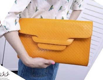 2015 vintage envelope clutch women's handbag one shoulder day evening bags female