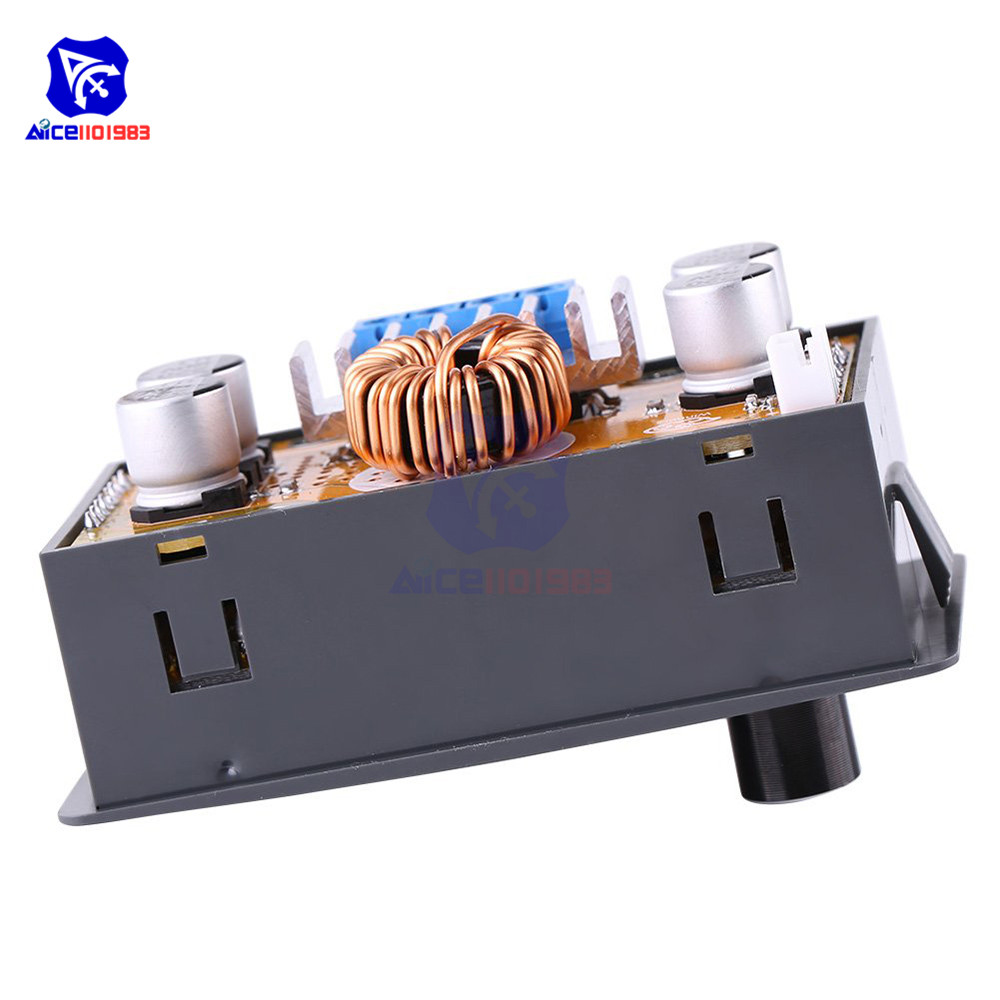 CC CV DC-DC 6-32V to 0-32V 5A Digital Adjustable Step-Down Power Supply Voltage Regulator Buck Converter Module with LCD Display
