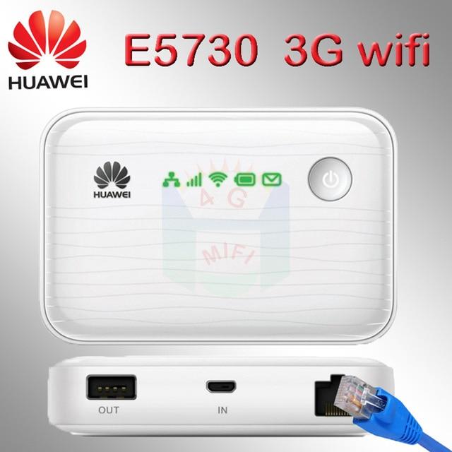 huawei power bank  5200mah e5730 wi-fi modem 3g router rj45 wifi Ethernet wireless 3g wifi router with sim card slot modem