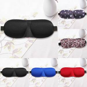 Sleep Goggles Flight Blindfolds-Shield Earplug Eyepatch Eyeshade Sleeping-Eye-Mask-Cover