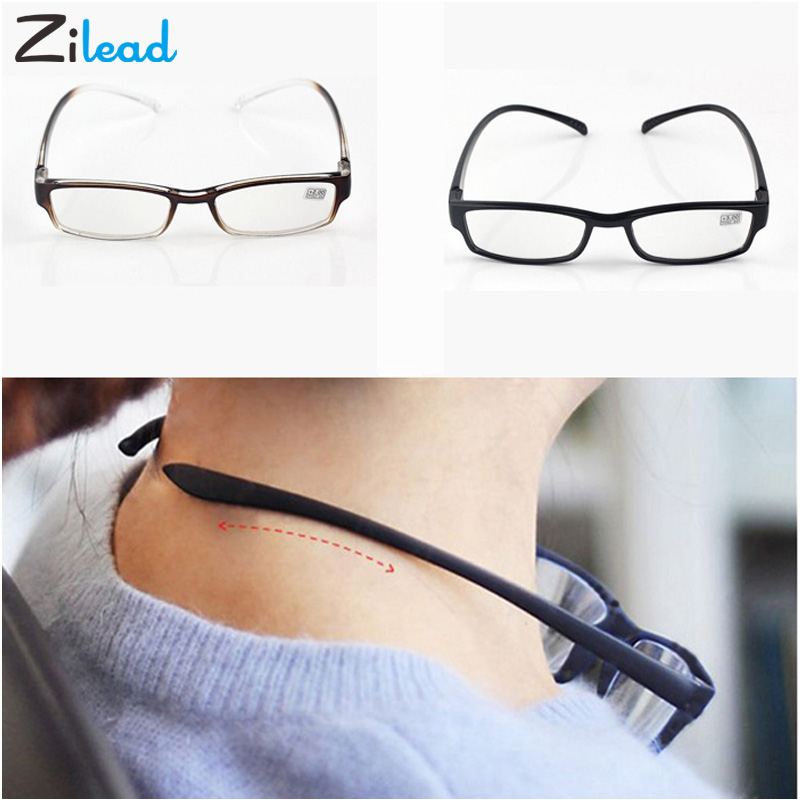 Zilead Unbreakable Comfortable Light Comfy Stretch Reading Glasses Presbyopia Men Women 4.0 3.5 3.0 2.5 2.0 1.5 1.0 Read Oculos image