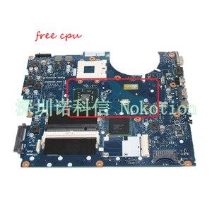 NOKOTION BA92-05711A BA92-05711B Laptop motherboard For Samsung NP-R522 R520 gma hd DDR2 Main board Free cpu full test