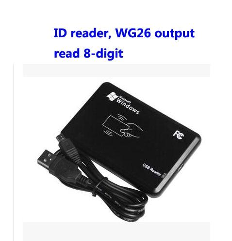 Free ship by DHL ,RFID USB EM card reader, USB desk-top card dispenser, Read 8-digit, WG26 format output ,sn:06C-EM-8,min:20pcs usb desk top card issue reader 125khz rfid usb proximity smart card readers usb readers read for 8 10 digit id card number