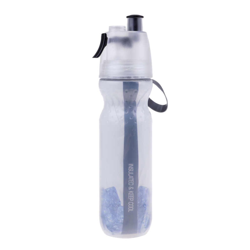 Outdoor Cycling Running Bicycle Water Drink Bottle Mist Spray Portable Outdoor Sports Bicycle Cycling Water Cup Bottle 500ml