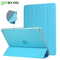 Original TPU Soft Smart Case For Ipad 2 3 4 Pro 9 7 PU Leather Glitter