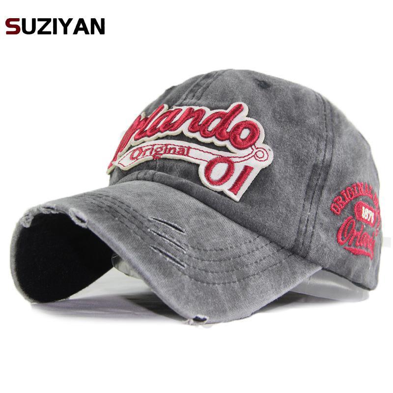 2018 New Hot Retro Washed   Baseball     Cap   Fitted   Cap   Snapback Hat For Men Bone Women Gorras Casual Casquette Letter Black   Cap